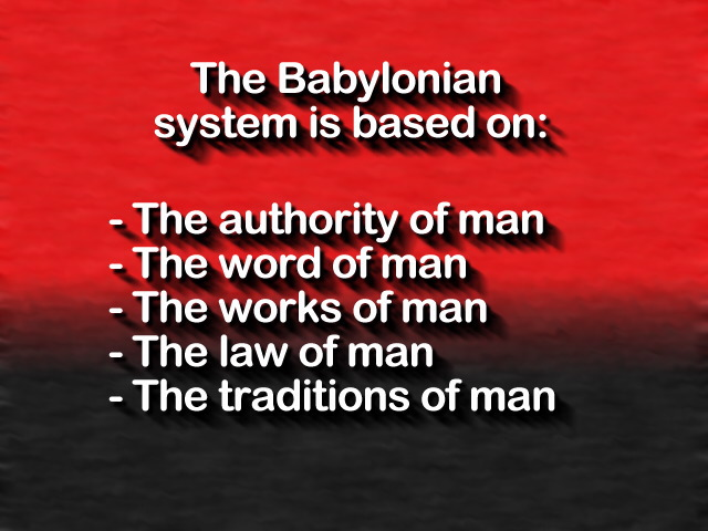 Traditions of man